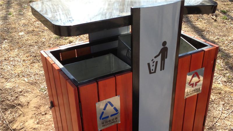 昌平森林公园垃圾桶项目案例