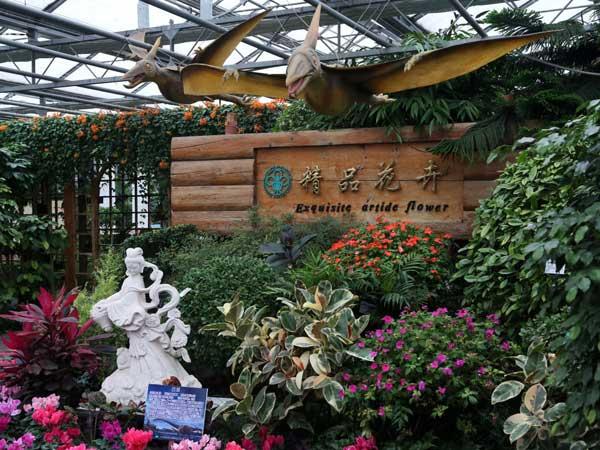 北京丰台区世界花卉大观园标识牌项目