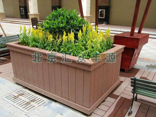 塑木花箱HZFY-SUMU01