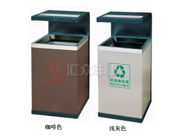 钢制垃圾桶图片