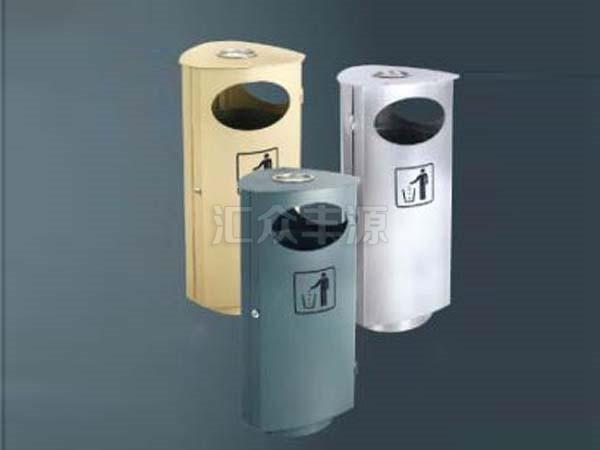 钢制垃圾桶HZFY-GZ46
