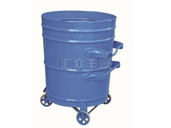 钢制垃圾桶HZFY-GZ47
