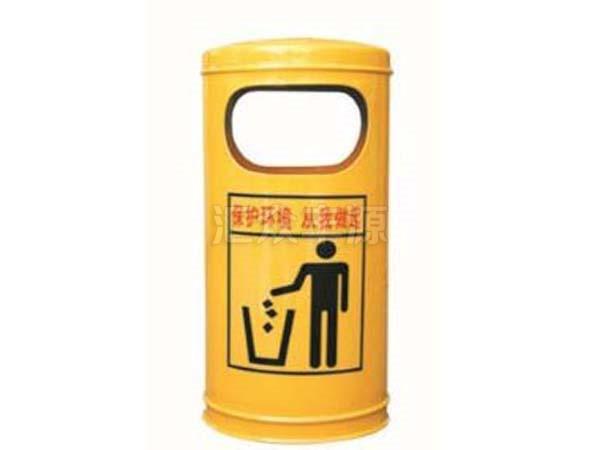 钢制垃圾桶HZFY-GZ48
