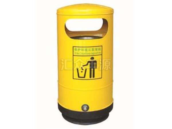 钢制垃圾桶HZFY-GZ49