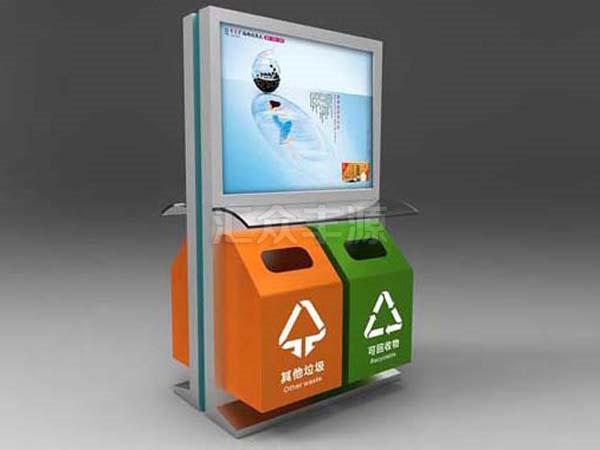 广告垃圾箱HZFY-GG15