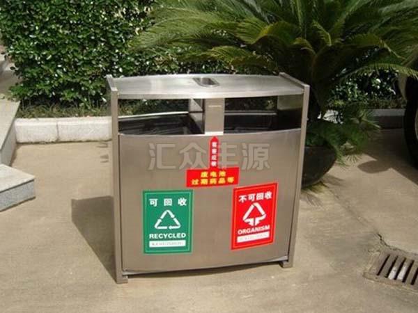 不锈钢垃圾桶HZFY-BXG14