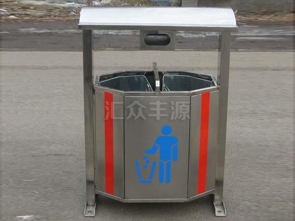 不锈钢垃圾桶HZFY-BXG15