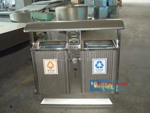 不锈钢垃圾桶HZFY-BXG16