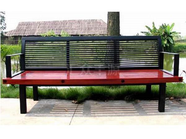 北京颐和园公园座椅施工项目