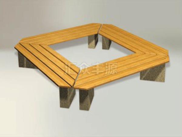 汇众丰源小编带大家深入了解下围树椅的细节部分