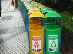 汇众丰源BLG11玻璃钢垃圾桶
