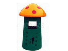 卡通小蘑菇BLG21玻璃钢垃圾桶