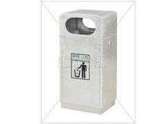 通用型单桶不锈钢垃圾桶