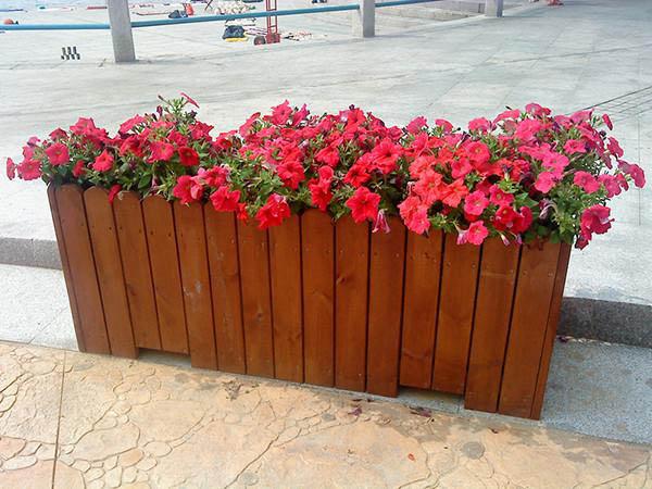 地坛公园广场花箱安装设计项目