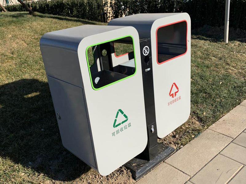 通州政府副中心垃圾桶项目