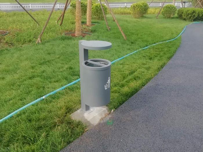 雄安新区垃圾桶、公园座椅项目案例