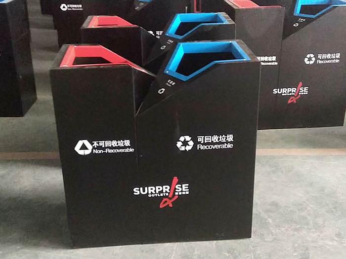 北京世纪金源购物中心垃圾桶项目案例
