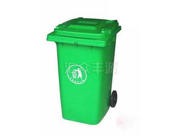 SL62浅绿色240L塑料垃圾桶