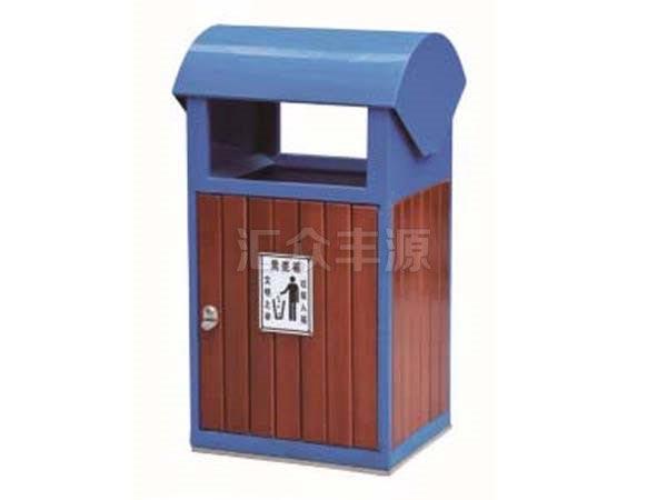 MZ43木质垃圾桶