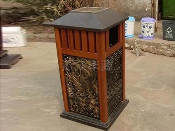 MZ56木质垃圾桶