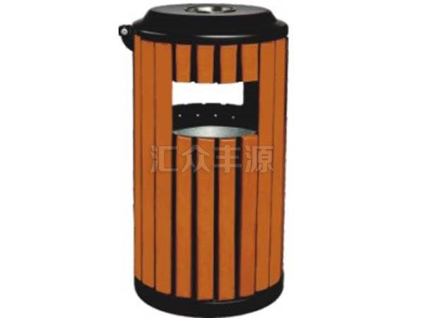 MZ57木制单桶垃圾桶