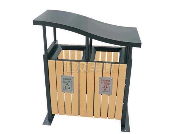 GMJH02钢木结合垃圾桶