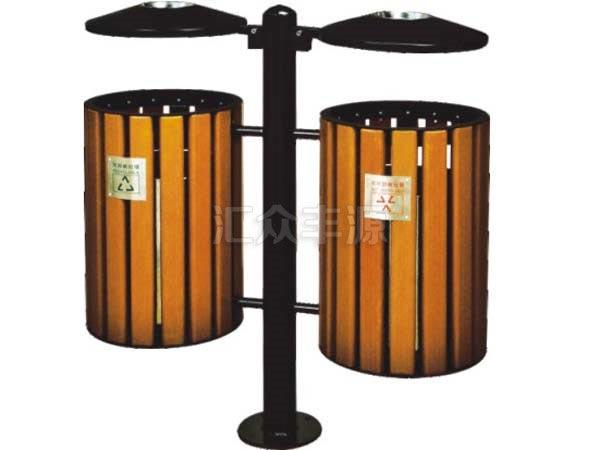 GMJH03钢木结合垃圾桶
