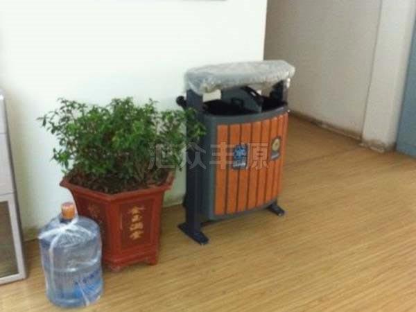 GMJH07钢木结合垃圾桶