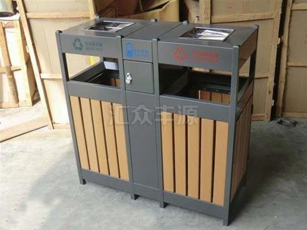 GMJH19钢木结合垃圾桶