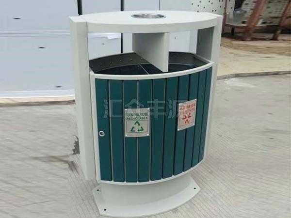 GMJH24钢木结合垃圾桶