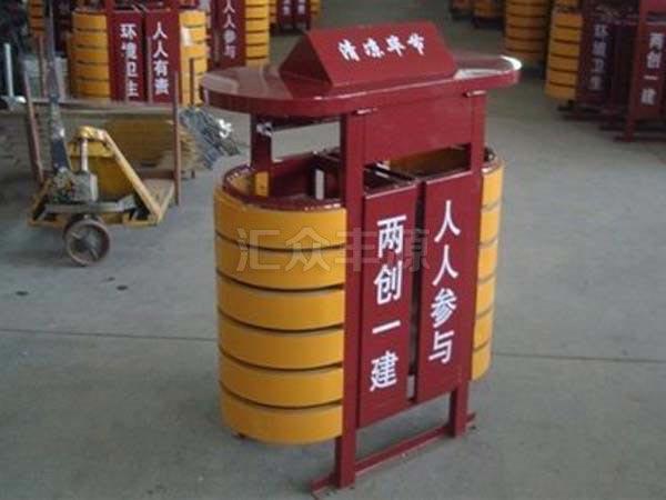 GMJH62钢木结合垃圾桶