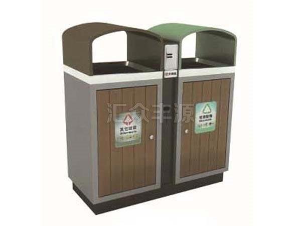 GMJH63钢木结合垃圾桶