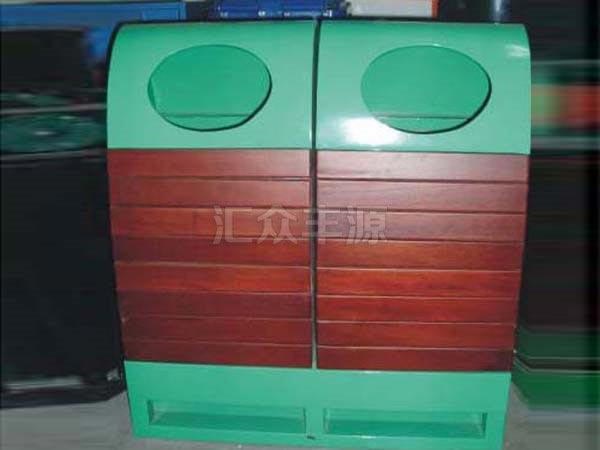 GMJH75钢木结合垃圾桶