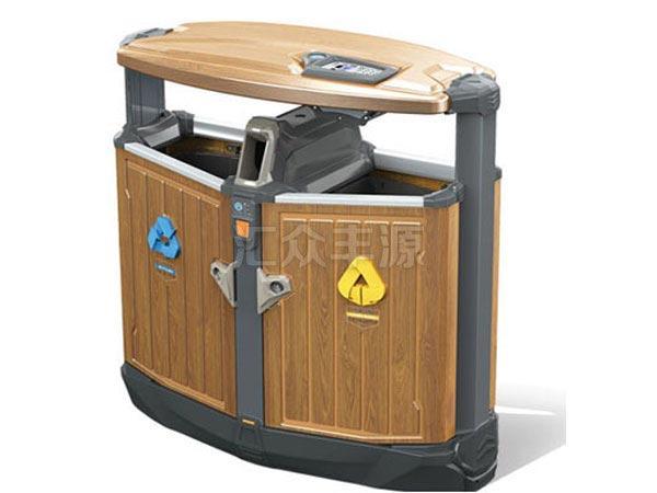 GMJH77钢木结合垃圾桶