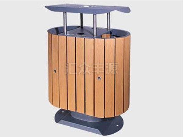 GMJH78钢木结合垃圾桶