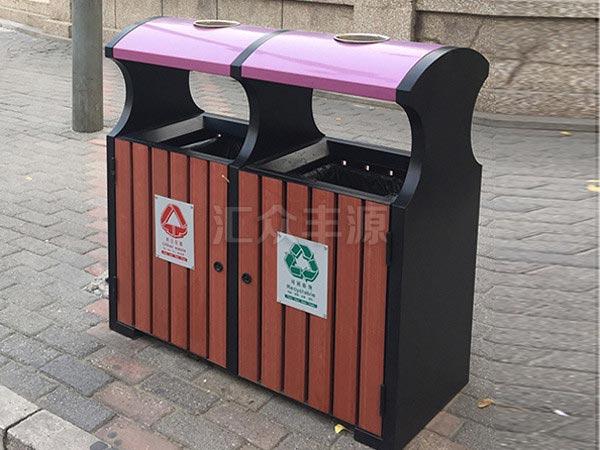 GMJH85钢木结合垃圾桶