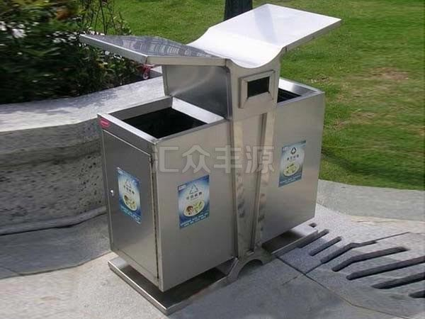 BXG08不锈钢垃圾桶