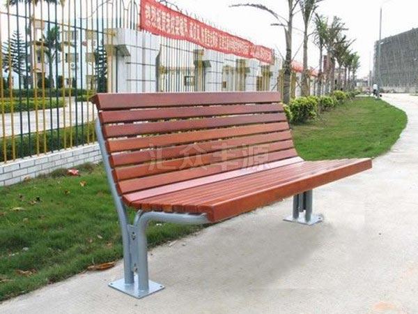 塑木椅条户外休闲椅特点